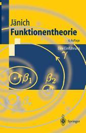 Funktionentheorie: Eine Einführung, Ausgabe 6