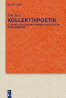 Kollektivpoetik PDF
