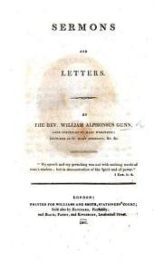 Sermons and letters. [Edited by R. S.]