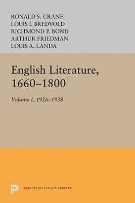 English Literature  Volume 1