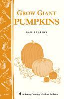 Grow Giant Pumpkins PDF