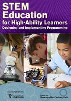 STEM Education for High Ability Learners PDF