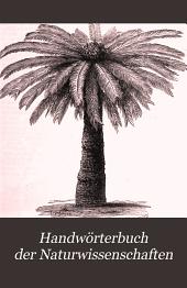 Handwörterbuch Der Naturwissenschaften: Band 5