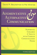 Augmentative Alternative Communication Book PDF