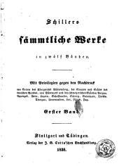 Schillers sämmtliche Werke: in zwölf Bänden, Band 3