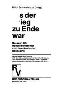 Als der Krieg zu Ende war PDF