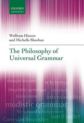 The Philosophy of Universal Grammar