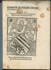 Carmen de rerum et artium inventoribus