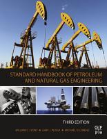 Standard Handbook of Petroleum and Natural Gas Engineering PDF