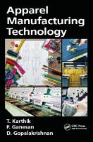 Apparel Manufacturing Technology PDF