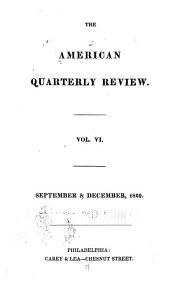 American Quarterly Review: Volume 6