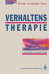 Verhaltenstherapie: Techniken und Einzelverfahren, Ausgabe 2