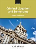 Criminal Litigation and Sentencing PDF