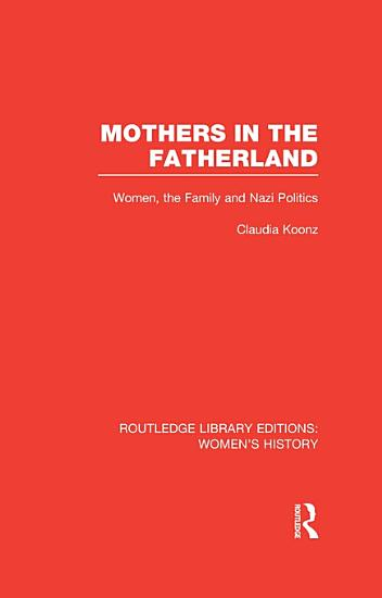 Mothers in the Fatherland PDF