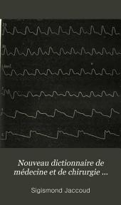 Nouveau dictionnaire de médecine et de chirurgie pratiques: Volume28