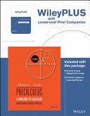 Precalculus   Wileyplus