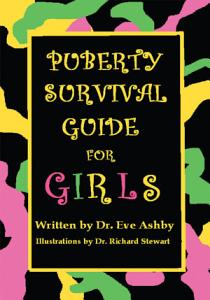 Puberty Survival Guide for Girls Book