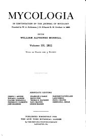Mycologia: Volume 3