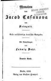 Memoiren: Bände 9-10