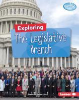 Exploring the Legislative Branch PDF