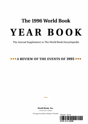 The World Book Year Book PDF