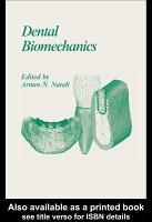 Dental Biomechanics PDF