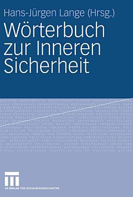 W  rterbuch zur Inneren Sicherheit PDF