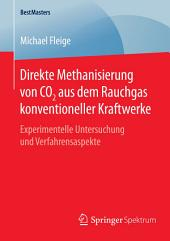 Direkte Methanisierung von CO2 aus dem Rauchgas konventioneller Kraftwerke: Experimentelle Untersuchung und Verfahrensaspekte