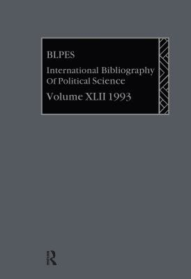 International Bibliography of the Social Sciences PDF