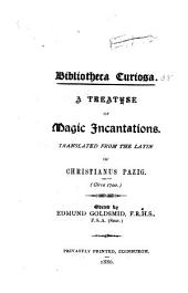 A Treatise of Magic Incantations