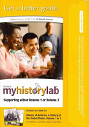 Visions of America   A History of the United States  Myhistorylab  Pass Code