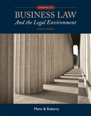 Essentials of Business Law and the Legal Environment PDF