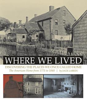 Where We Lived Book