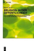 Religion in der   ffentlichkeit PDF