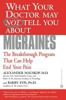 What Your Doctor May Not Tell You About TM   Migraines PDF