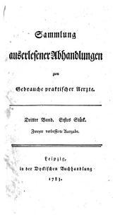 Sammlung auserlesener Abhandlungen zum Gebrauche praktischer Aerzte: Band 9