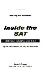 Inside The Sat 2006 Edition Book PDF