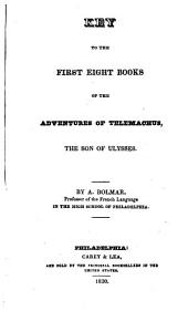 Key to the First Eight Books of the Adventures of Telemachus: The Son of Ulysses