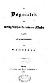 Die Dogmatik der evangelisch-reformierten Kirche