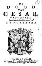 De dood van Cesar: treurspel