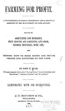 Farming for Profit PDF