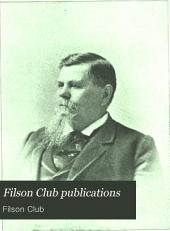 Filson Club Publications: Volume 7
