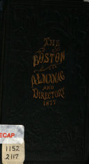 The Boston Almanac and Business Directory