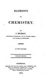 Elements of Chemistry: Volume 2