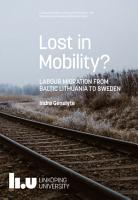 Lost in Mobility  PDF
