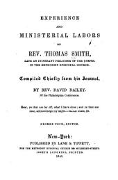 Experience and Ministerial Labors of Rev. Thomas Smith