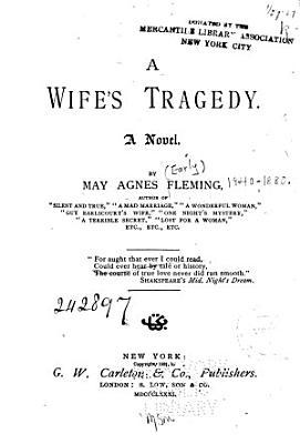 A Wife s Tragedy PDF