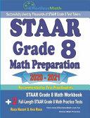 STAAR Grade 8 Math Preparation 2020 - 2021