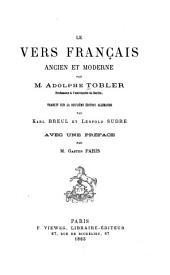 Le vers français, ancien et moderne