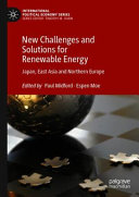 New Challenges and Solutions for Renewable Energy